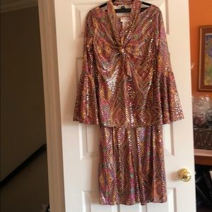 Disco 3 piece costume